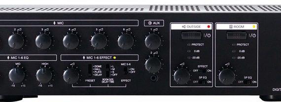 Tăng âm số liền Mixer: MX-6224D