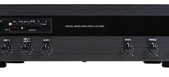 A-3212DM Tăng âm số liền Mixer với MP3