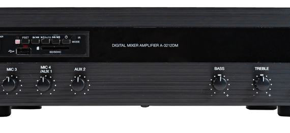 A-3248DM Tăng âm số liền Mixer với MP3